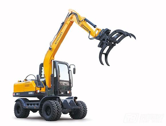 新源机械XYB75W-8轮式挖掘机