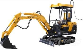 玉柴YC20D电动履带挖掘机