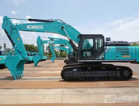 神钢SK380XD-10履带挖掘机