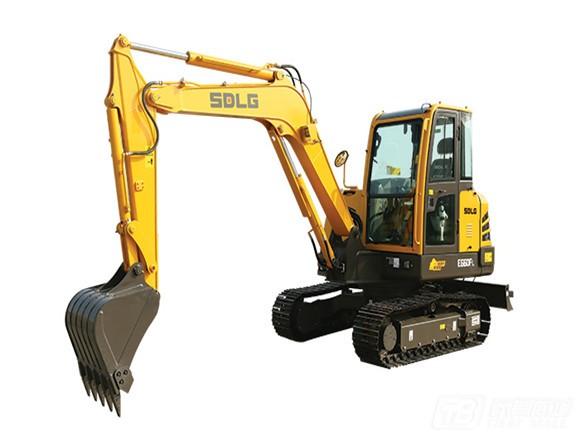 山东临工E660FL履带挖掘机