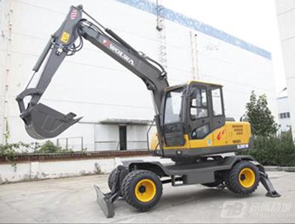 沃尔华DLS885-9M轮式挖掘机