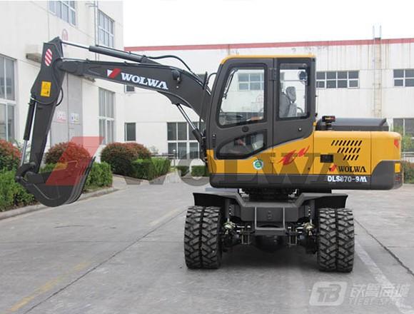 沃尔华DLS870-9M轮式挖掘机