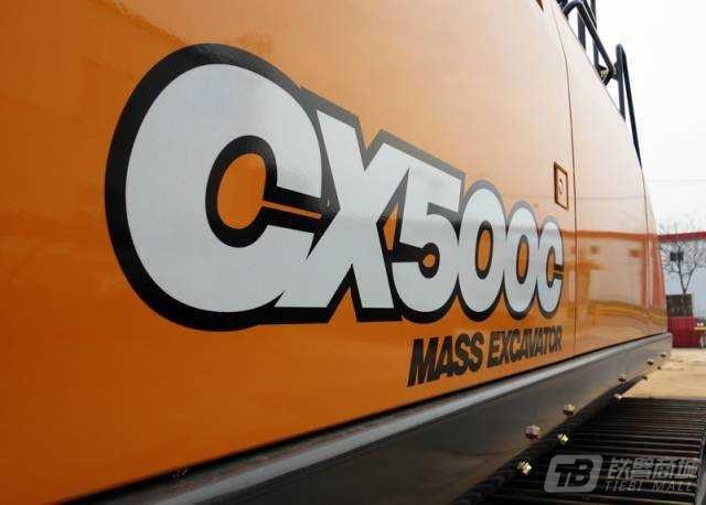 凯斯CX500C履带挖掘机