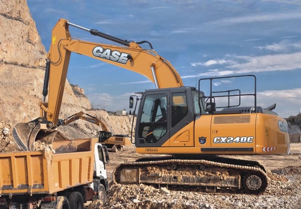 凯斯CX240C履带挖掘机