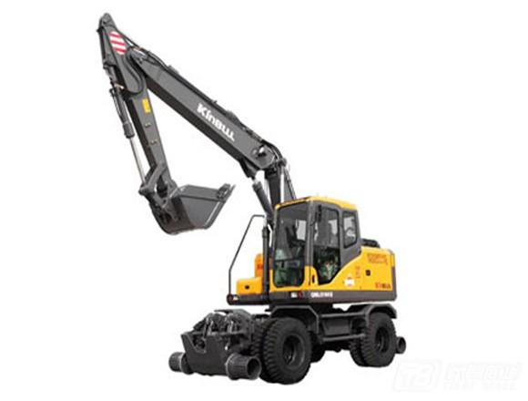 勤牛QNL220C轮式挖掘机