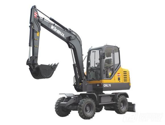 勤牛QNLW220轮式挖掘机