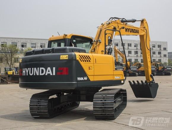 现代R150LVS履带挖掘机