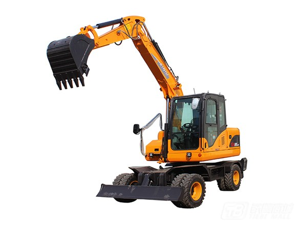 犀牛重工XN85-9Y轮式挖掘机
