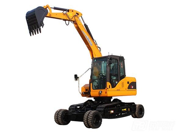 犀牛重工X9轮式挖掘机