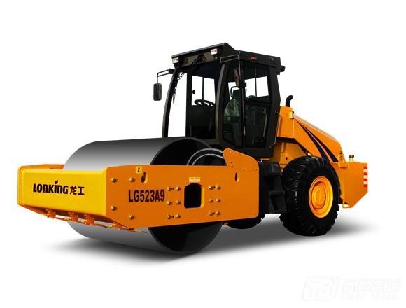 龙工LG523A9机械驱动单钢轮振动压路机