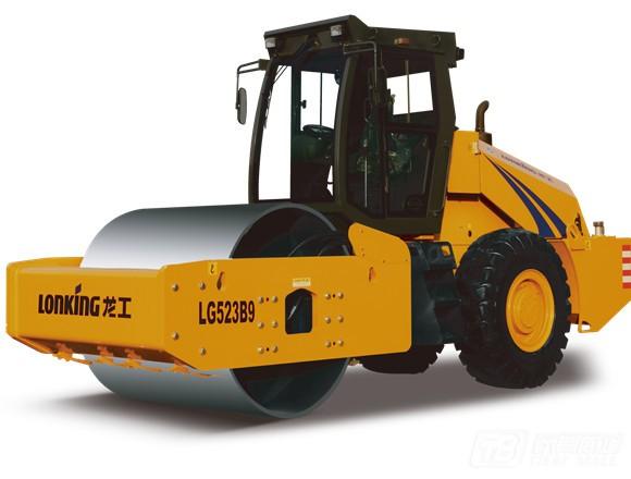 龙工LG523B9机械驱动单钢轮振动压路机