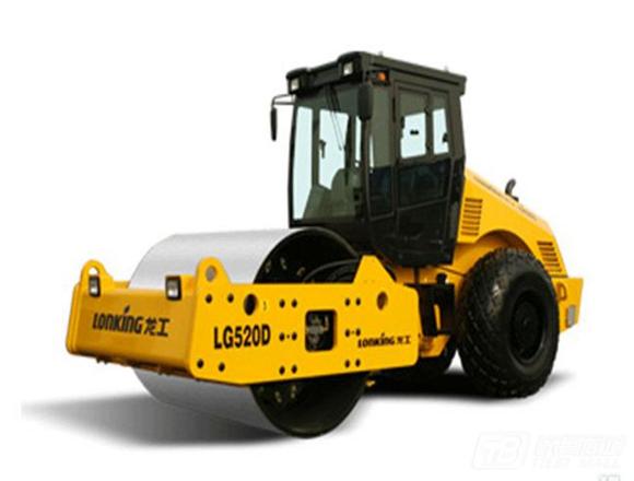 龙工LG520D单钢轮压路机