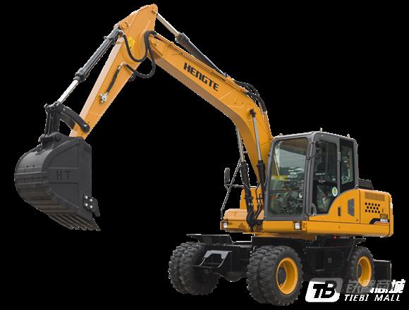 恒特HT135W轮式挖掘机