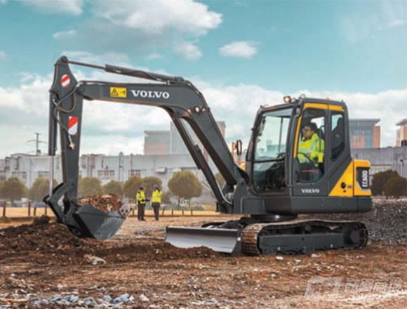 沃尔沃EC60D履带挖掘机