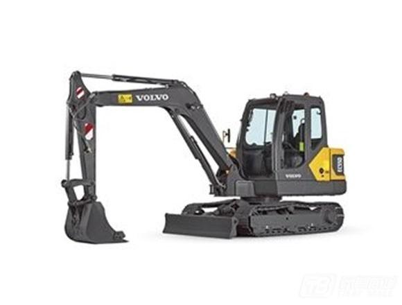 沃尔沃EC55D履带挖掘机