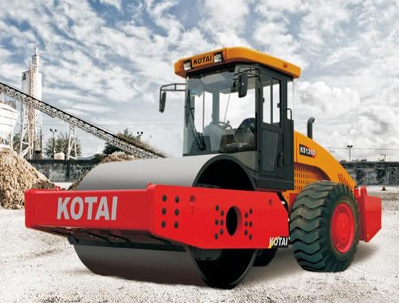 科泰重工全液压单钢轮压路机口碑