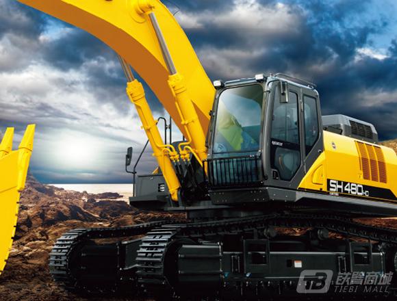 住友SH480HD-6履带挖掘机