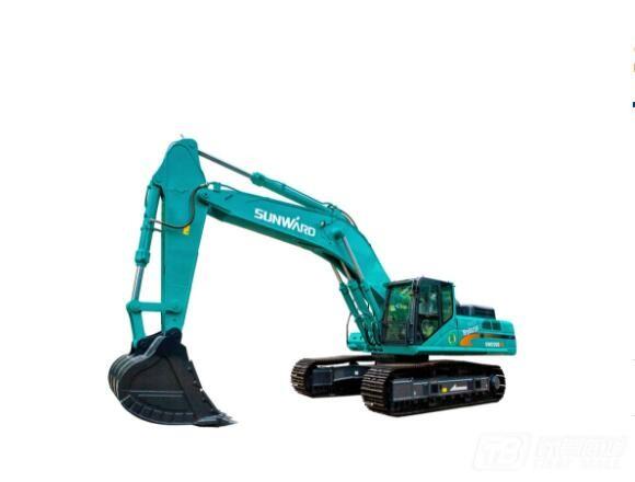 山河智能SWE500ES混合动力挖掘机