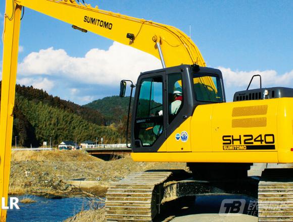 住友SH240-5LR履带挖掘机
