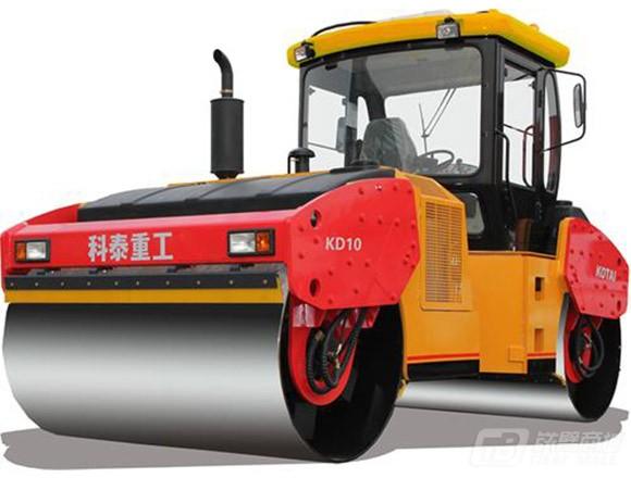 科泰重工KD10全液压双钢轮压路机