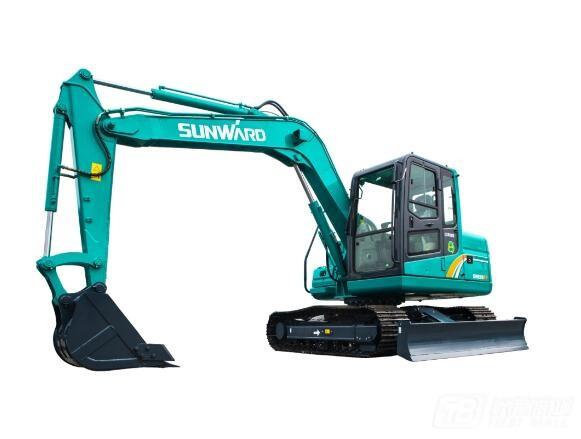 山河智能SWE80E9履带挖掘机