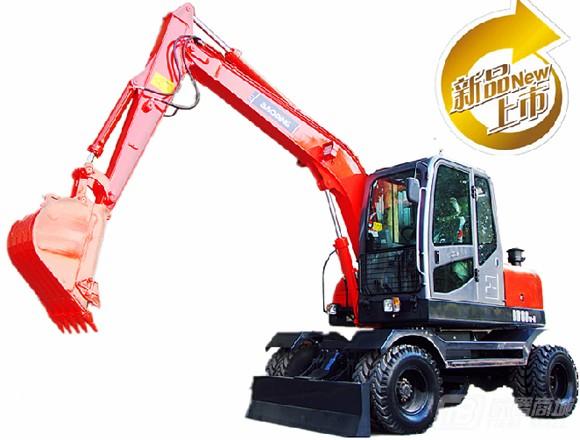 宝鼎BD80-6轮式挖掘机