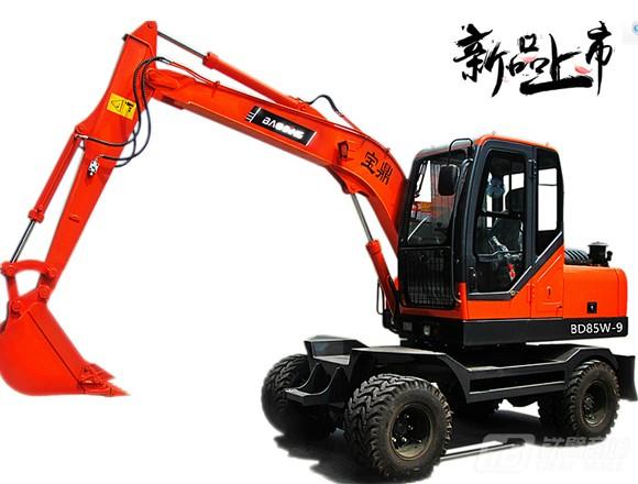 宝鼎BD85W-9轮式挖掘机图片