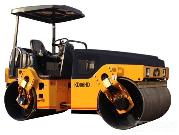 科泰重工KD06HD全液压小钢轮压路机