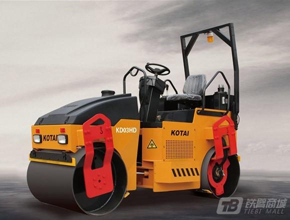 科泰重工KD03HD全液压小钢轮压路机