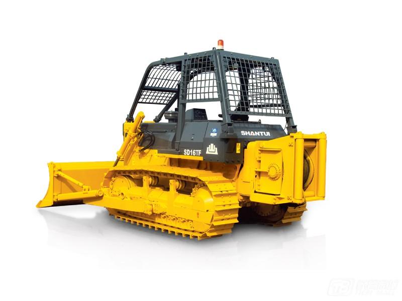 山推SD16TF机械森林伐木履带推土机
