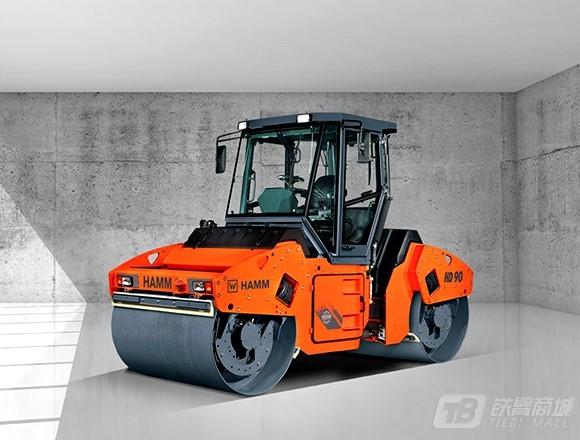 悍马HD90铰接双钢轮振动压路机