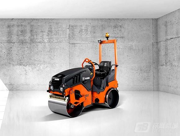 悍马HD8VV双钢轮压路机