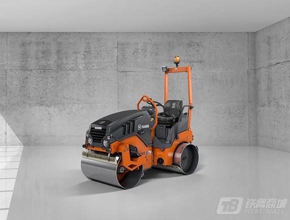 悍马HD10CVT双钢轮压路机