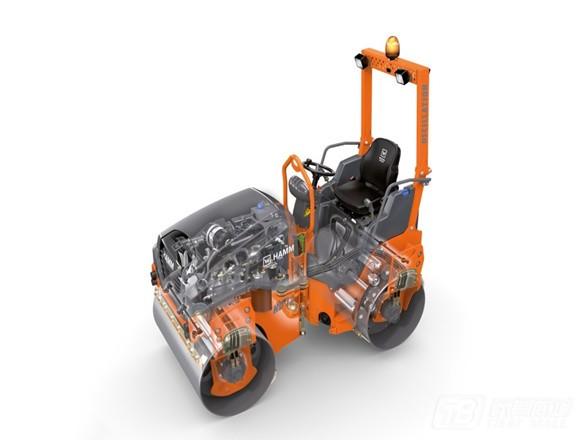 悍马HD14VV双钢轮压路机