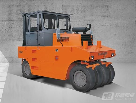 悍马GRW15充气胶轮压路机