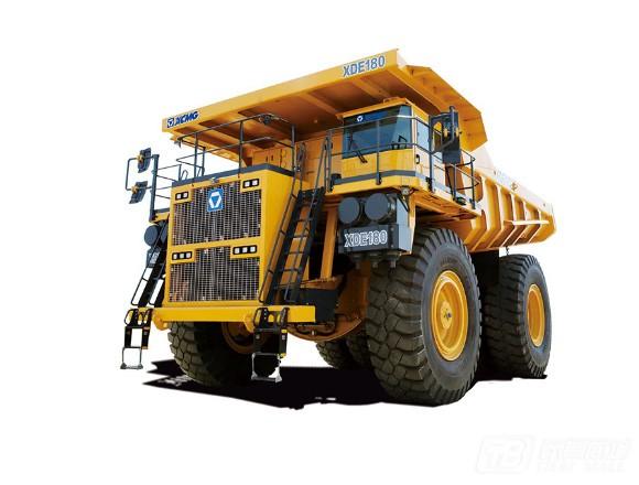 徐工XDE180矿用自卸卡车图片