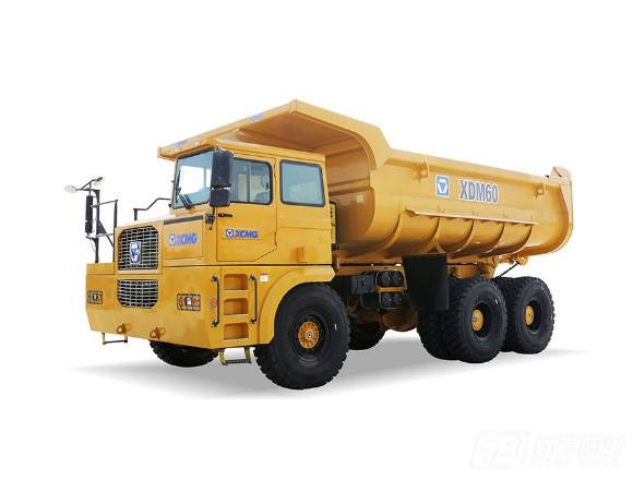 徐工XDM60矿用刚性自卸车