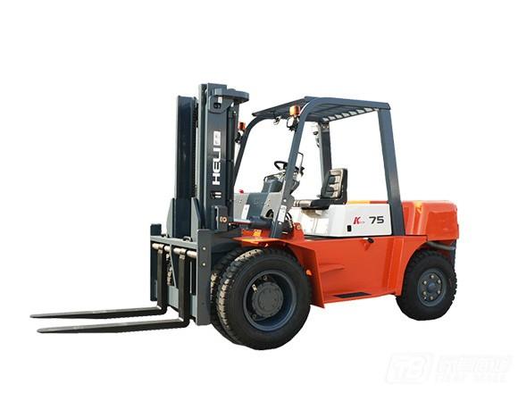 合力CPCD75(K系列7.5吨柴油平衡重式叉车/石材车)
