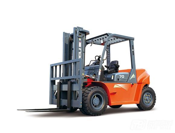 合力CP(Q)YD70(G系列7吨汽油/液化石油气LPG平衡重