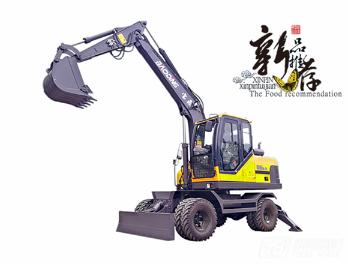 宝鼎BD95W-9A轮式挖掘机图片