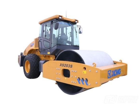 徐工XS203S单钢轮压路机