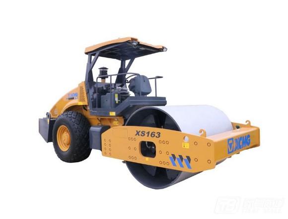 徐工XS163单钢轮压路机