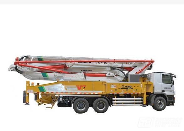 徐工HB52K混凝土泵车( 奔驰底盘 )