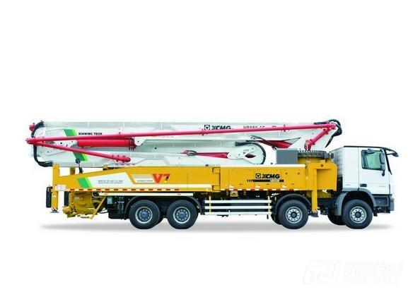 徐工HB58K混凝土泵车( 重汽底盘 )