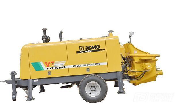 徐工HBT5008K拖泵图片