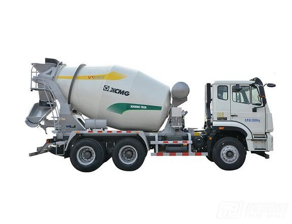 徐工XSC3303重汽豪沃系列三桥混凝土搅拌运输车图片