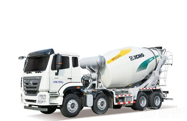 徐工XSC4305混凝土搅拌运输车图片