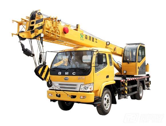 森源SMQ5125JQZ东方红底盘汽车起重机(国五)