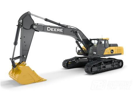 约翰迪尔E400LC履带挖掘机