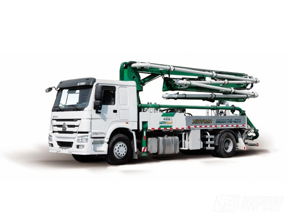 森源重工SMQ5160THB27米混凝土泵车